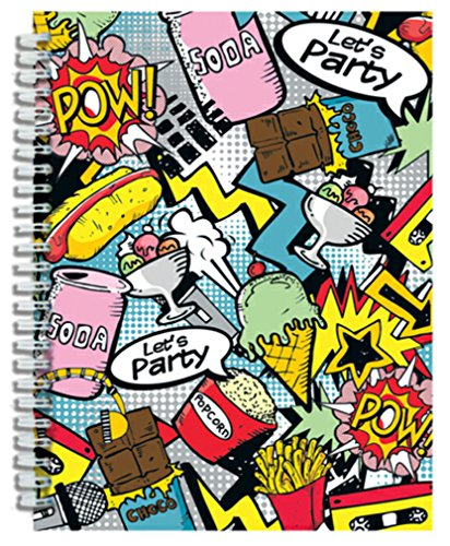 iscream 'Pop Art' 3D Spiral-Bound Journal - 1