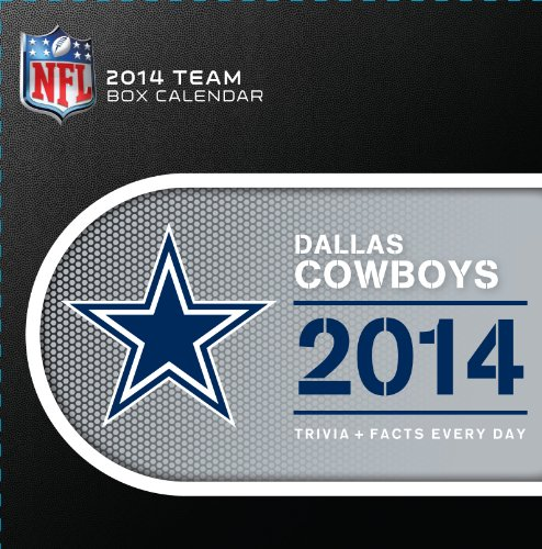 Turner - Perfect Timing 2014 Dallas Cowboys Box Calendar (8051199) at Amazon.com