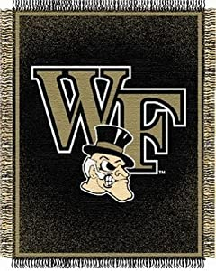 Click here to buy NCAA Wake Forest Demon Deacons Focus Woven Throw Blanket by Northwest.
