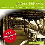 Le sermon sur la chute de Rome   Jérôme Ferrari