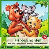 Tiergeschichten - Viele kleine Geschichten Mäusen, Katzen und Kaninchen (Ein Hörbuch für Kinder ab 3 Jahren) [CD / Audiobook] - 2013