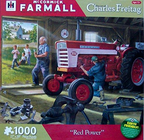 Farmall Red Power 1000 Piece Jigsaw Puzzle