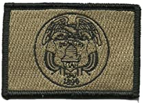 Tactical State Patch - Utah (Coyote Tan)