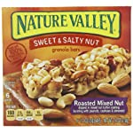 Nature Valley Sweet and Salty Nut Granola Bars, Roasted Mixed Nut, 6-1.2oz Count Boxes (Pack of 6) Reviews