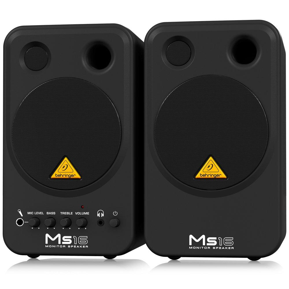 Behringer MS16 Compact Stereo Speaker System