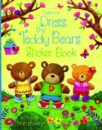 Dress the Teddy Bear Sticker Book PDF