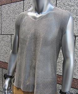 ステンレス メッシュシャツ Mサイズ