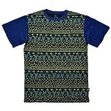 (マナスタッシュ)Manastash Tシャツ「KILIMM PRINT T キリムプリントTシャツ」7133014 ブラック (09)