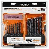 RIDGID Black Oxide Drill Bit 29 Pc. Set (Color: black)
