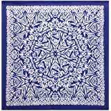 Blue Grateful Dead® Dancing Bears Mandala Tapestry - Hanging Wall Art - Measures Approx. 59 x 59 Inches