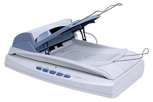 Plustek PL806 Scanner de documents 220 x 355.6 mm 600 ppp jusqu'à 8 ppm (mono) Chargeur automatique de documents ( 50 feuilles ) Hi-Speed USB