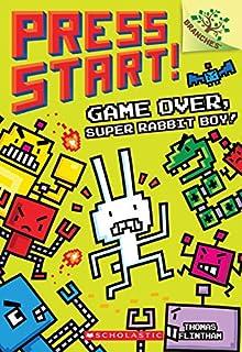 Book Cover: Game Over, Super Rabbit Boy! A Branches Book