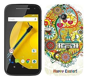 WOW Printed Designer Mobile Case Back Cover For Motorola Moto E 2nd Gen E2