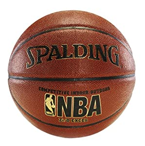 Spalding 64-497 Official NBA Zi/O Excel Basketball (Official Size)