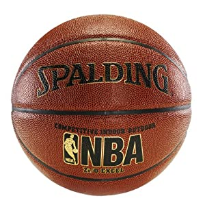 Spalding NBA Zi/O Excel Basketball - Official Size 7