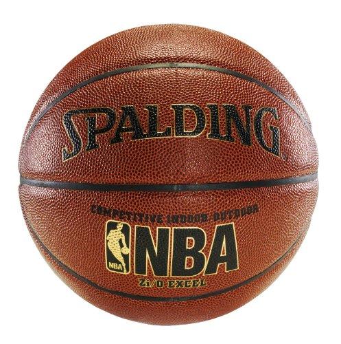 Spalding 64-497 Official NBA Zi/O Excel Basketball (Official Size)