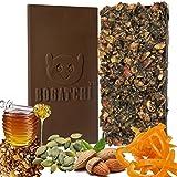 BOGATCHI Dark Chocolate Granola Bars With HONEY, ALMONDS, CRUNCHY, PUMPKIN SEEDS, RAISINS, ORANGE PEEL- ENERGY...