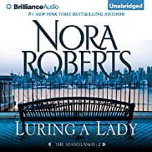 Luring a Lady (       UNABRIDGED) by Nora Roberts Narrated by Christina Traister
