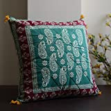 Block Print Cotton Cushion Cover(Set Of 5) - B00UIT6E7Q