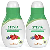 Stevia Concentrated Liquid Sweetener (Optimized with Erythritol) 1.33 FL OZ (37 mL) – 2 Pack (Tamaño: 1.33 FL OZ (37 mL)-2 Pack)