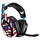 MightySkins Skin for Astro A50 Gaming Headset - Patriot | Protective, Durable, and Unique Vinyl Decal wrap Cover | Easy to Apply, Remove, and Change Styles | Made in The USA (Color: Patriot, Tamaño: Astro A50)