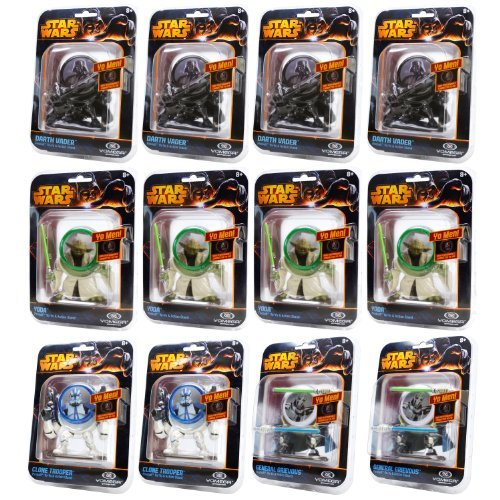 Yomega Star Wars Yo Men Collectible YoYo Variety (12-Pack) by Yomega günstig bestellen