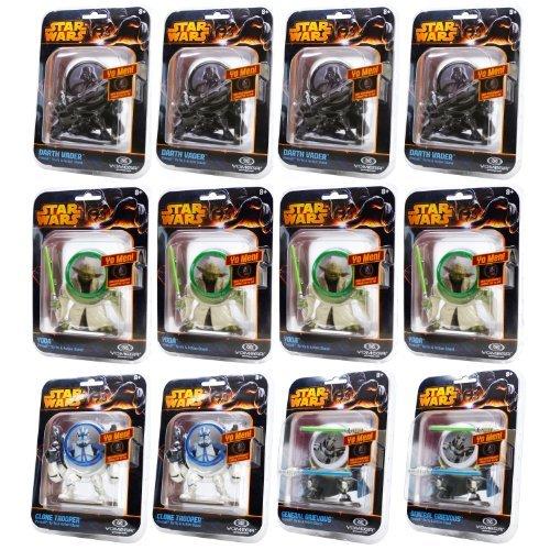 Yomega Star Wars Yo Men Collectible YoYo Variety (12-Pack) by Yomega