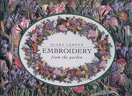 Libro diana lampe s embroidery from the garden di