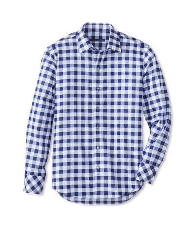 Zachary Prell Men's Sampson Checked Long Sleeve Shirt