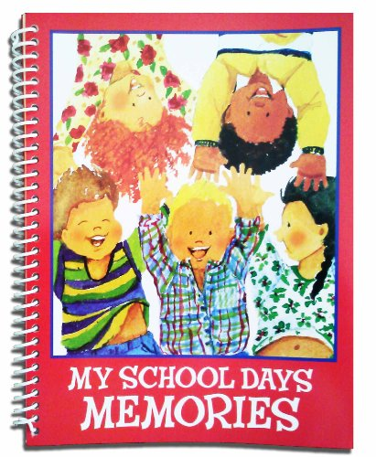My School Days Memories Album - Spiral Bound Scrapbook - 1