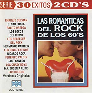 Various Artists - Las Romanticas del Rock de los 60's - 30 Exitos