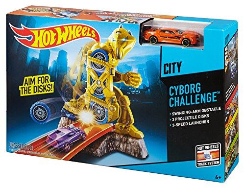 Hot Wheels Cyborg Challenge Track Set JungleDealsBlog.com