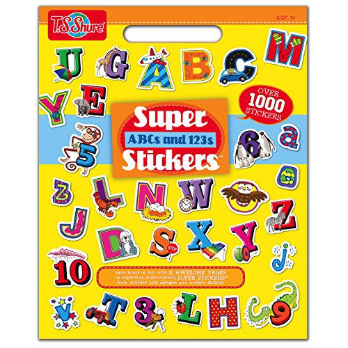 T.S. Shure ABC and 123 Super Sticker Book
