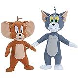 TOM and Jerry Soft Stuffed Plush Dolls Toy Set
