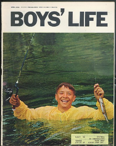 BOYS LIFE 4 1966 Ted Williams on Spin Fishing Justice Potter Stewart; Schwinn ad