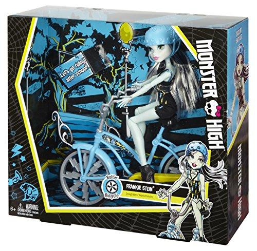 Monster High Boltin' Bicycle Frankie Stein Doll & Vehicle JungleDealsBlog.com