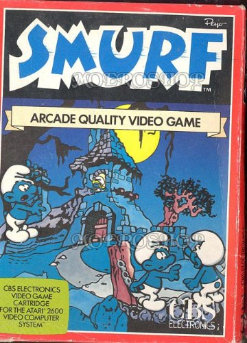 Smurf - Atari 2600 - PAL
