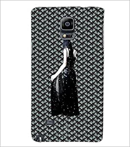 PrintDhaba Black Angel D-5642 Back Case Cover for SAMSUNG GALAXY NOTE 2 (Multi-Coloured)