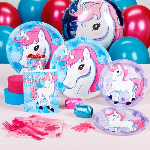 Enchanted-Unicorn-Party-Supplies-Standard-Party-Pack-for-16