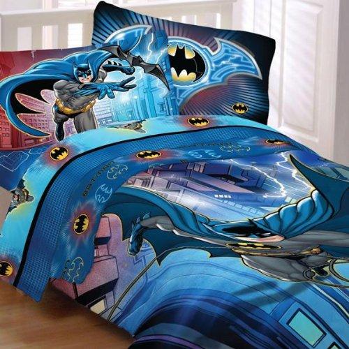 Batman Lightning Night Dc Comics Full-Double Bedding Set front-506791