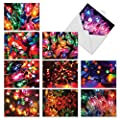 Light Brights Christmas Funny Paper Card