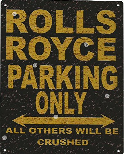 8x10in-rolls-royce-parking-sign-rustic-style-8x10in-20x25cm-car-shed-tin-garage-workshop-wall-art