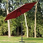 Outsunny 2.7m Patio Garden Umbrella O...