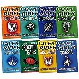 Gareth P Jones Alex Rider Pack Collection, 8 books, RRP £63.92 (Stormbreaker, Point Blanc, Skeleton Key, Eagle Strike, Scorpia, Ark Angel, Snakehead, Crocodile Tears) (Alex Rider) (Alex Rider)