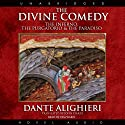 The Divine Comedy: The Inferno, The Purgatorio, & The Paradiso (       UNABRIDGED) by Dante Alighieri Narrated by Pam Ward