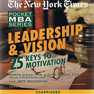 The New York Times Pocket MBA: Leadership and Vision | [Ramon J. Aldag, Buck Joseph, Ed.D.]