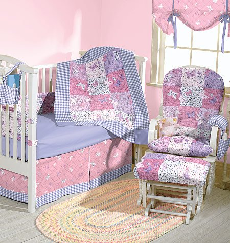 McCall's Patterns M4855 Baby Room Essentials, One Size Only (Baby Crib Bedding Sewing Patterns compare prices)