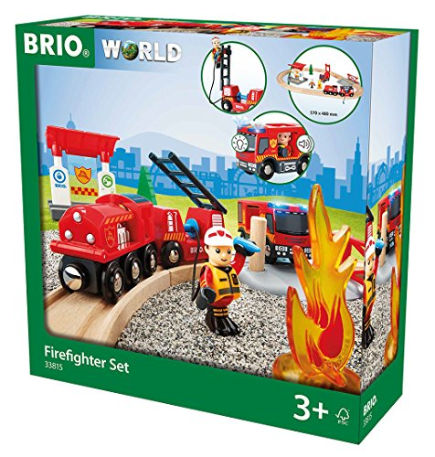 New BRIO Rescue Firefighter Set