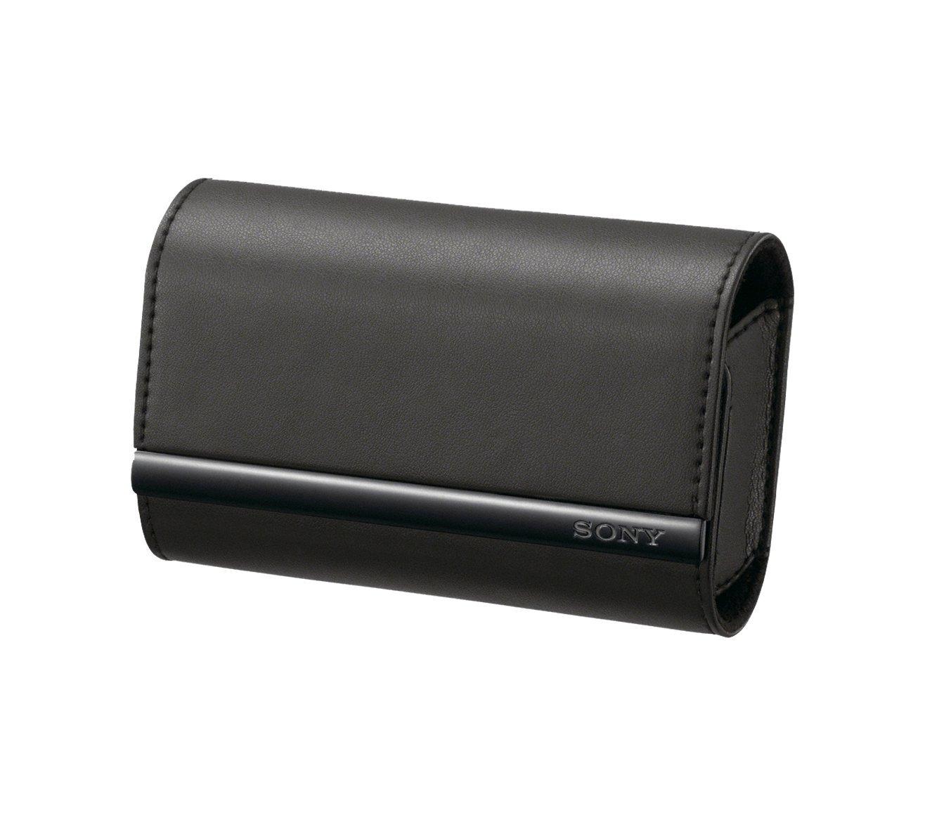 Sony LCSTWJ - Bolsa semidura para cámaras digitales, color negro  Electrónica Revisión del cliente