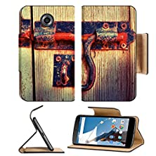buy Msd Motorola Google Nexus 6 Flip Pu Leather Wallet Case Bolt Lock Door Vintage Style Image 22185653